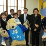 Más de 2,500 niños fueron beneficiados con segunda campaña de reciclaje 2010