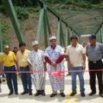 Inauguran carretera Kimbiri-Kepashiato, importante vía de integración del VRAE
