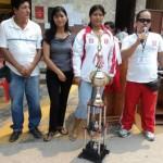 Pesistas que viajan a Cuba y Venezuela fueron distinguidas como hijas ilustres de Aguaytía