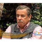 Fernando Rospigliosi asegura que sí hay corrupción en el ejército (video)
