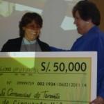 """Comunidad de Tananta en Tocache ganó primer puesto en """"Selva ganadora"""""""