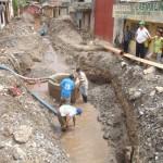 Unas 1,354 familias se integraron al sistema de agua y desague en Leoncio Prado