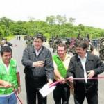 Presidente Alan García inauguró tramo San Alejandro – Neshuya de la carretera Federico Basadre