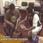 Hallan dos kilos de droga camuflados en banquitos de madera en Tingo María (video)
