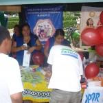 Coaliciones antidrogas participan en feria por Día Mundial de Lucha contra el Sida