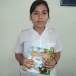 Alumna de Aucayacu gana primer puesto en concurso de cuentos ecológicos