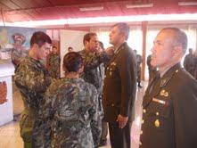 Ascienden a oficiales y suboficiales del Ejército Peruano en Ayacucho