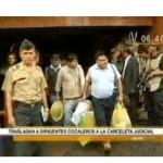 Trasladaron a detenidos en el Alto Huallaga (video)