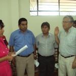 Alcaldesa juramenta a nuevo directorio de electro Tocache sin ... - INFOREGION