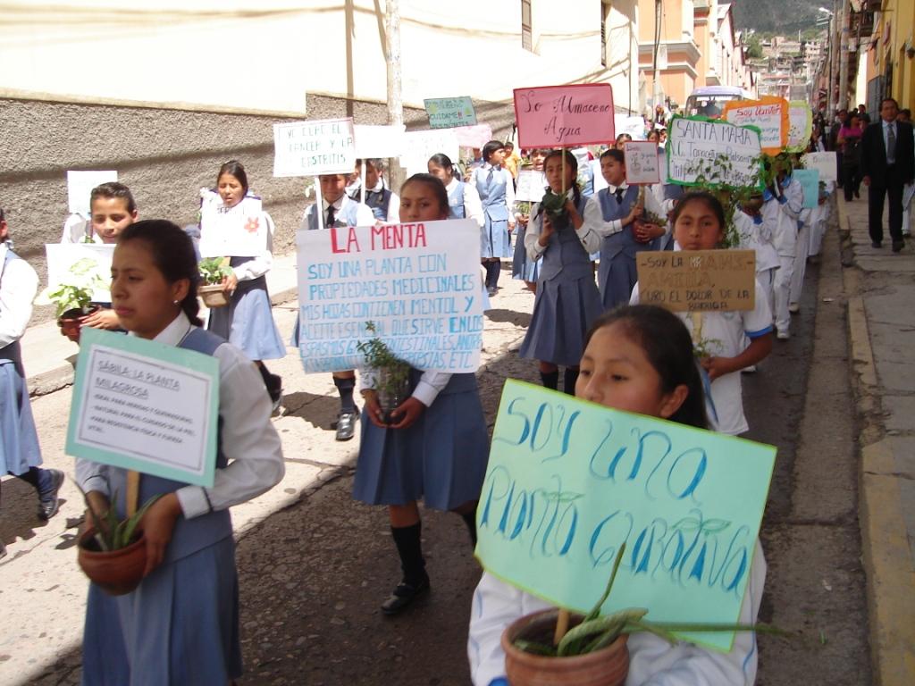 Estudiantes de Ayacucho exigen a las autoridades proteger el