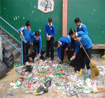 Lanzan concurso escolar de reciclaje segrego bac n for Carteleras escolares de reciclaje