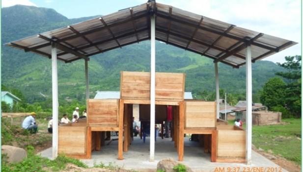 Construcci n de m dulos para atender cacao marcha sin for Construccion de modulos comerciales