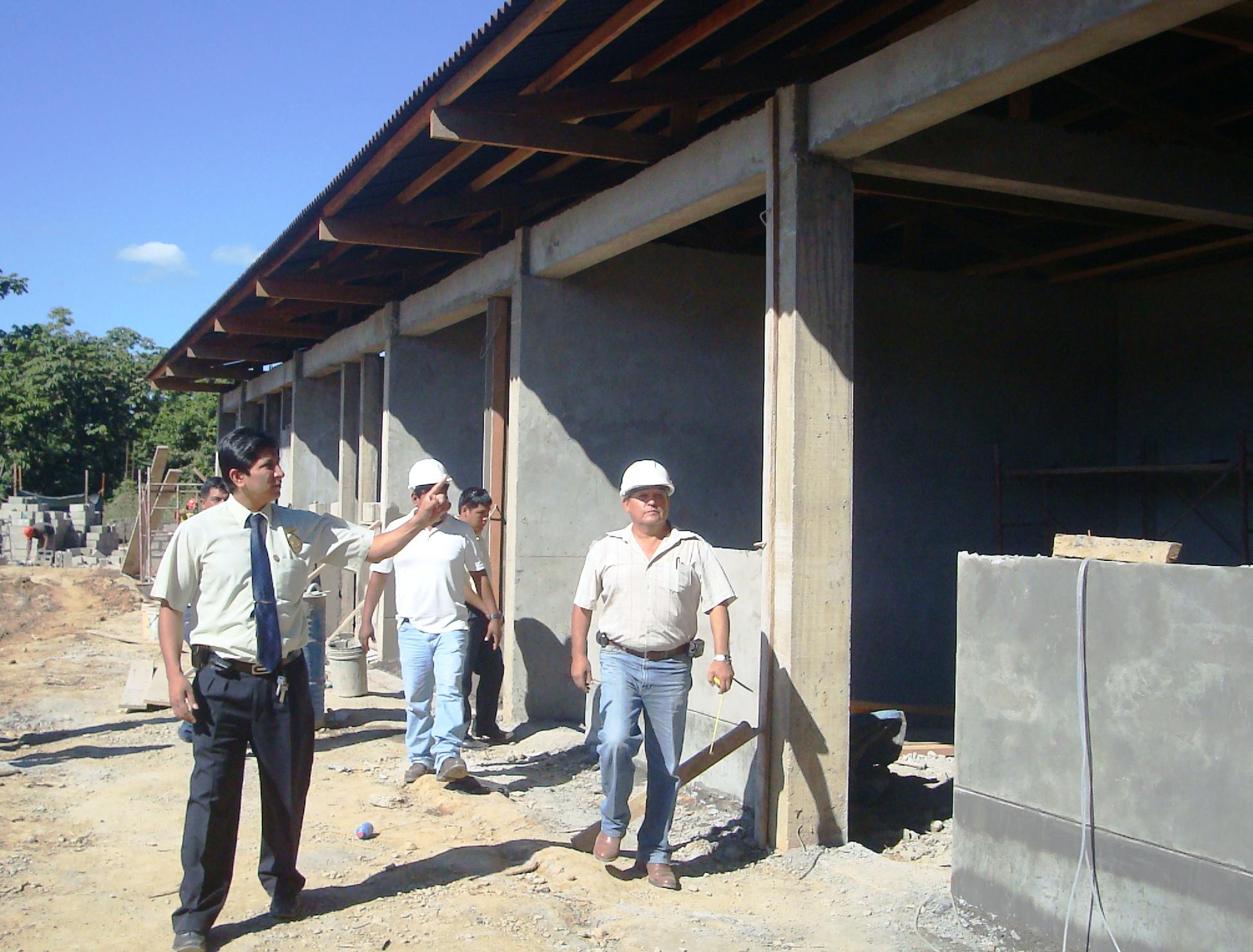 Vivero municipal de tambopata tiene un avance de 80 for Vivero municipal