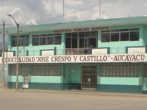 Aucayacu reclama un comisario