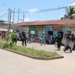 Protesta estudiantil en Universidad Nacional Amazónica de Madre de Dios