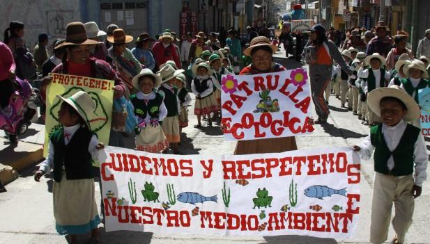 Pasacalle ambiental congrega a 650 estudiantes de Espinar | Inforegion