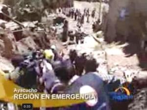 Premier Velasquez declara en emergencia Ayacucho por huayco