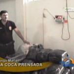 Copiloto de ómnibus interprovincial dormía sobre colchón de coca prensada