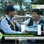 Centros de salud del VRAE recibieron equipos médicos