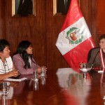 Fiscal de la Nación pidió a dirigentes indígenas buscar soluciones respetando la ley y la paz