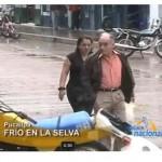 Temperatura en Pucallpa baja hasta los 10 grados (video)