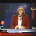 Corresponsal de INFOREGION despacha sobre huelga cocalera a Canal N (video)