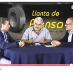 Lourdes Flores en la punta (video)