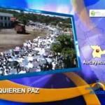 Aucayacu dijo NO a la violencia en multitudinaria marcha
