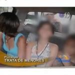 Capturan a peligrosa banda de tratantes de menores en Pucallpa (video)