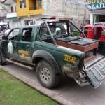 Tres policías resultaron heridos en un triple choque en Tingo María