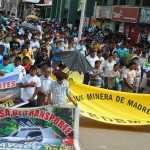 Federación Minera de Madre de Dios inició huelga de brazos caídos