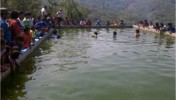 Inauguran criadero de peces en pangoa inforegion for Criaderos de pescados colombia