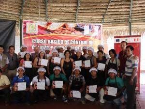 Productores de Satipo participan de curso de control de calidad y catación de cacao