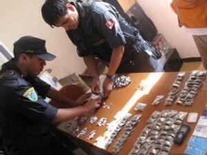 Capturan a microcomercializadores de droga en Satipo