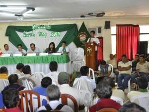 Coordinan mantenimiento de carreteras en centros poblados de Satipo