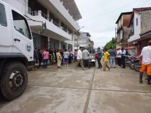Recojen dos toneladas de desechos para prevenir el dengue en Tocache