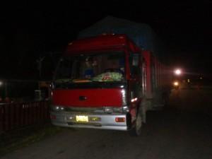 Inmovilizan 15 TM de arroz que se transportaba con documentos falsos