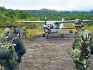 Destruyen dos pistas clandestinas en Satipo