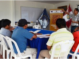 DAS capacita a operadores que formalizarán predios rurales en Satipo