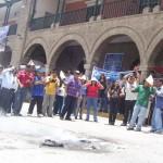 Trabajadores judiciales de Ayacucho seguirán en huelga sin sueldos