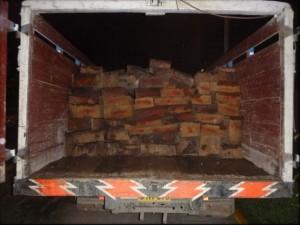 Prosiguen decomisos de madera en el Vraem
