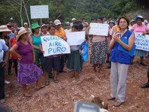 Pobladores amenazan salir a las calles por problema de la basura en Satipo