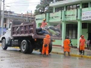 Se reinició recojo de basura en Satipo