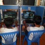 Más de 30 escolares fueron hallados en cabinas de Internet en hora de clases