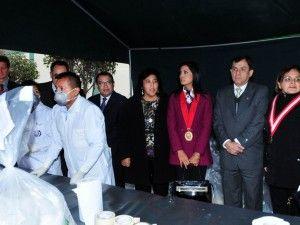 Mininter implementará cinco puntos de incineración de droga en el país