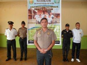 Escuela de Policía de Santa Lucía convoca a Examen de Admisión 2014