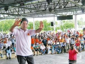 David Bazán Arévalo se impuso en la urnas en Tocache