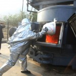 Incineran más de cinco toneladas de droga incautadas por la Policía Nacional