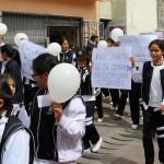 En Ayacucho realizan pasacalle sobre el impacto del divorcio en los hijos
