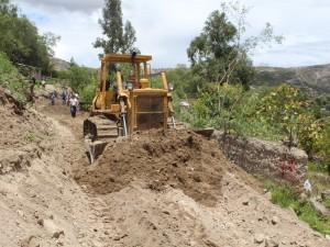Aperturan cinco kilómetros de calles y trocha carrozable en Jesús Nazareno